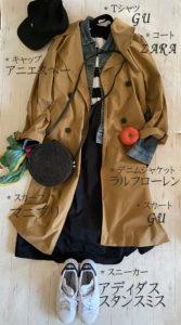 GU×ZARAでオードリーファッション